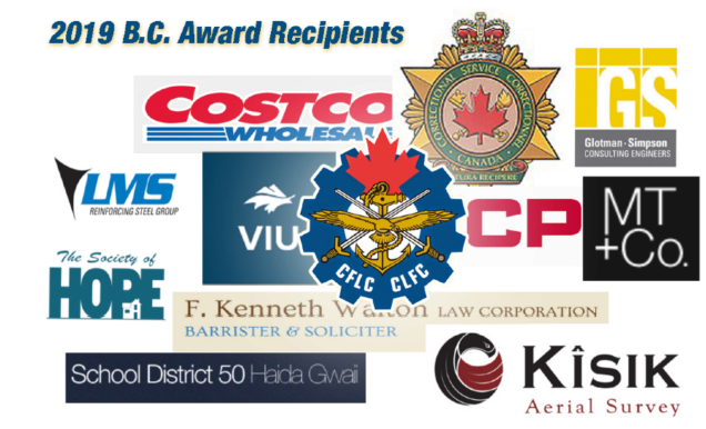 Canadian Military Employer Supports Award!
